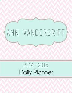Sneak Peek Planner I have been working away designing my new calendar! 2017 Planner, Agenda Planner, Academic Planner, Life Organization, Organizing, Custom Planner, Binder Covers, Prioritize, Classroom Decor