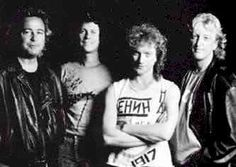 Foreigner band | The band circa 1981: From left to right, Mick Jones, Dennis Elliott ...