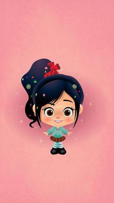 Disney Wreck It Ralph Venelope Iphone wallpapers http://iphonetokok-infinity.hu Iphone 4/4s, Iphone 5/5s/5c