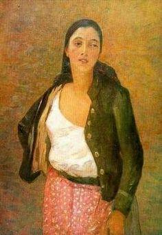 Safta florareasa - Stefan Luchian Romantic Paintings, Paintings I Love, William Adolphe Bouguereau, Shirt Skirt, Munich, Art World, Romania, Figurative, Dan
