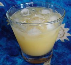 Rum Louis Cocktail from Food.com: A delightful and tropical fruity rum drink that's sure to please almost anyone!!