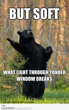 Haha Shakesbear!!!