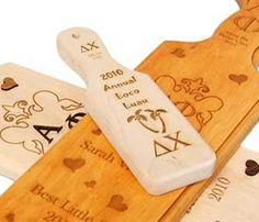 sorority paddle engraving