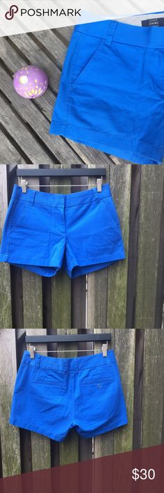 "⚡️SALE⚡️J. Crew Royal Blue 5"" Chino Shorts ⚡️FLASH SALE - TEMPORARILY REDUCED⚡️J. Crew 5"" Chino Shorts 