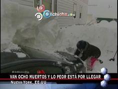 """Tormena De Nieve En Nueva York: """"8 Muertes Y Lo Peor Aún Está Por Llegar"""" Y Más Internacionales #Video"""