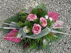 Grave Arrangement Allerheiligen Totensonntag Grave Jewelry Commemoration Rosen Exoten  #allerheiligen #arrangement #commemoration #grave #jewelry #totensonntag