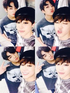 Jungkook and Jimin from Bts twitter update