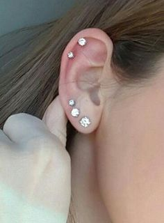 double ear piercing