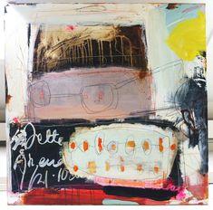 Line Juhl Hansen -art stuff! Kunstjournal Inspiration, Art Journal Inspiration, Painting Inspiration, Modern Art, Contemporary Art, Atelier D Art, Art Techniques, Love Art, Les Oeuvres