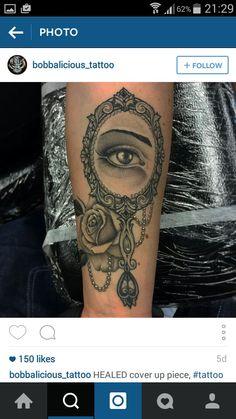 Ornate Hand Mirror Tattoo To Ornate Hand Mirror Tattoo Infovisual
