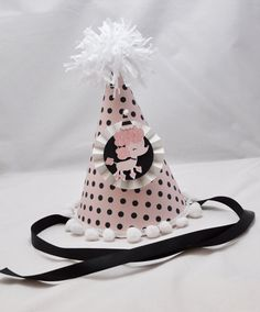 Poodle Party Hat by CardsandMoorebyTerri on Etsy, $12.50