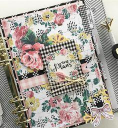 Kate Spade Planner, Pink Planner, Planner Layout, Happy Planner, Planner Ideas, Kikki K, Filofax, Smash Book Planner, Cute Notebooks
