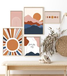 Simple Canvas Paintings, Small Canvas Art, Diy Canvas Art, Canvas Art Prints, Simple Artwork, Simple Wall Art, Cool Wall Art, Modern Gallery Wall, Gallery Wall Art
