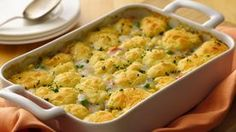 Gluten-Free Hearty Chicken Pot Pie Dinner ready in 45 minutes! Enjoy this scrumptious chicken pot pie packed with veggies and herbs – a hearty casserole! Healthy Recipes, Gf Recipes, Gluten Free Recipes, Chicken Recipes, Dinner Recipes, Cooking Recipes, Gluten Free Bisquick Recipe, Gluten Free Chicken Pot Pie Recipe, Party