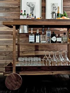 Store your drinks in style with this gorgeous cappuccino bar storage on home basement bar designs, home interior design site, home bar interior design, home bar wine rack designs,