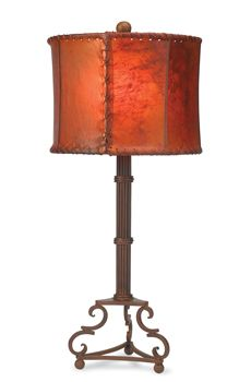 Smithy's Forge Lamp & Shade