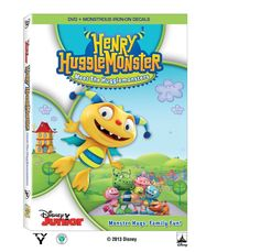 Henry Hugglemonster: Meet The Hugglemonsters Disney Jr ¡sorteo!