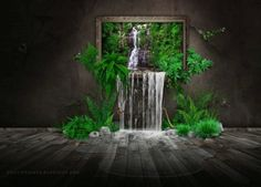 Waterfall painting Digital Art HD desktop wallpaper, Waterfall wallpaper, Jungle wallpaper, Painting wallpaper - Digital Art no. Nature Iphone Wallpaper, Plant Wallpaper, Windows Wallpaper, Painting Wallpaper, Desktop Wallpapers, 1080p Wallpaper, Wallpaper Gallery, Computer Wallpaper, Wall Wallpaper