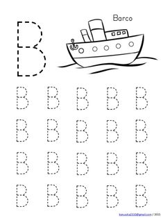 Abecedario en mayusculas con dibujos Handwriting Worksheets For Kids, Shape Worksheets For Preschool, Alphabet Tracing Worksheets, Kids Math Worksheets, Preschool Writing, Numbers Preschool, Preschool Learning Activities, Free Preschool, Preschool Printables