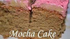 Mocha cake For ingredients and exact measurements, visit: http://www.alingodays.co.uk/mocha_cake.htm Mocha Icing link: http://www.alingodays.co.uk/mocha_icing.htm