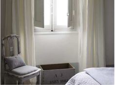 Lovely provence bedroom, chair