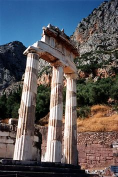 Delphi, Greece    Site of the ancient oracle and sanctuary to Apollo!