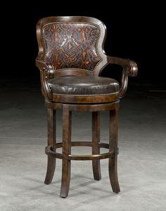Tooled Nate Chair | Lakota Cove