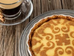No-bake Honey Milk Tart