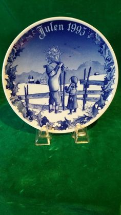 Porsgrund Norway~JULEN 1993 Collector  Plate Home For Christmas      BEST OFFER Christmas Plates, Christmas Home, The Collector, Worlds Largest, Norway, Ebay, Decor, Decoration, Dekoration