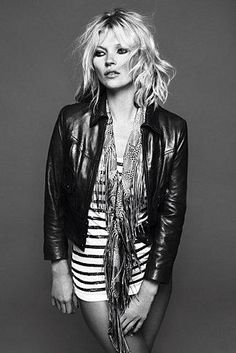 Kate Moss Marinière