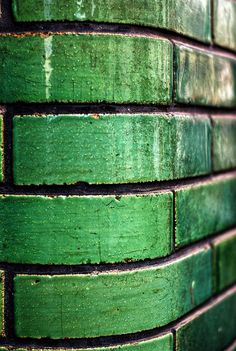 green ceramic tile....