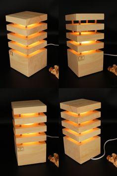 Die Holzglanz Zirbenlampen, im schlichten eleganten Design, wurden entwickelt, um nicht nur eine angenehme Atmosphäre, sondern auch um ein wohltuendes Wohnklima zu schaffen. Bereits die geringe Wärmeabgabe des Leuchtköpers reicht aus, damit das Zirbenholz seinen angenehmen und beruhigenden Duft freigibt. Ein elegantes zeitloses Design, passend für jeden Raum. Ein absoluter Hingucker für jedermann. Netzbetrieben mit einem wechselbaren LED Spot (230V) Gefertigt in reiner Handarbeit in… Led Spots, Jenga, Design, Environment, Light Fixtures, Light In The Dark, Bedside Lamp, Lighting