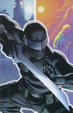 G.I. Joe - Snake Eyes by David Williams