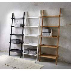 Wall Stigereol - 999,- | Køb online | IDE.dk Ladder Bookcase, Shelves, Wall, Bathroom, Home Decor, Washroom, Shelving, Decoration Home, Room Decor