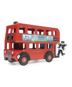 Loving this London Bus on #zulily! #zulilyfinds