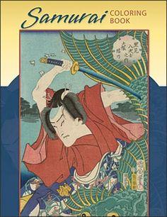 Samurai Coloring Book