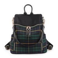 13fa5c5ffc Women Leisure Plaid Backpack Large Capacity Shoulder Bag
