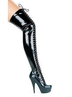 """6"""" Thigh High Boots"""