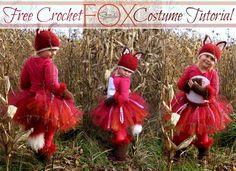 Free Crochet FOX Cos