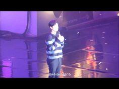 160116 박보검 팬미팅 클로징 직캠 - YouTube