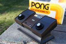 Atari Pong - my first video game system