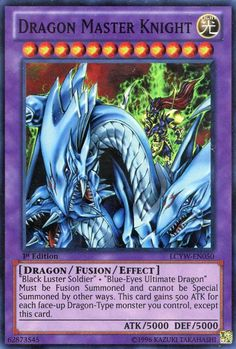 Amazon.com: Yu-Gi-Oh! - Dragon Master Knight (LCYW-EN050) - Legendary Collection 3: Yugi's World - Limited Edition - Super Rare: Toys & Games