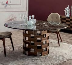 картинка Обеденный стол Tonin Casa Italian History, 8076_round изображение