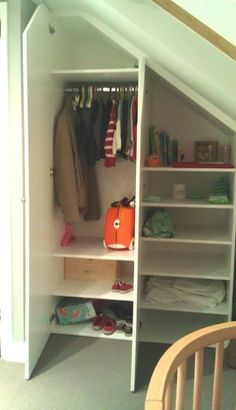 Good idea for under the stairs closet