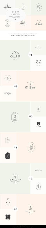 Feminine Digital Logo Bundle Vol.2 - Logos