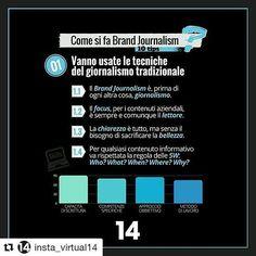 #Repost @insta_virtual14 with @repostapp ・・・ Il Brand che diventa editore e fa informazione, ma quali sono le regole da seguire? Abbiamo preparato 10 utili suggerimenti per le aziende che decidono di puntare su questa forma di comunicazione, ecco il primo.  #brandjournalism #tips #infographic