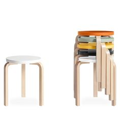 46.55$  Buy here - http://ali2is.worldwells.pw/go.php?t=32647448967 - CH146 wooden Stool by alvar aalto stool 60 in living room freeshpping