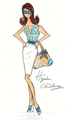 Hayden Williams Fashion Illustrations: Hayden Williams For Barbie BFMC