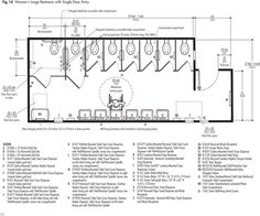 Bathroom Stall Layout pinc.c on 平面-衛浴 | pinterest | school architecture and