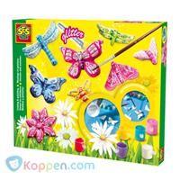 SES Vlinders gieten en schilderen - Koppen.com SES Vlinders gieten en schilderen. Maak de mooiste beeldwerkjes van gips met SES Creative. Nadat je deze vlinders en bloemen van gips hebt gegoten. Kun je ze gaan beschilderen in de mooiste kleuren en verder versieren met glitterstof. - See more at: http://www.koppen.com/producten/product/ses-vlinders-gieten-en-schilderen#sthash.V5Z5cndP.dpuf